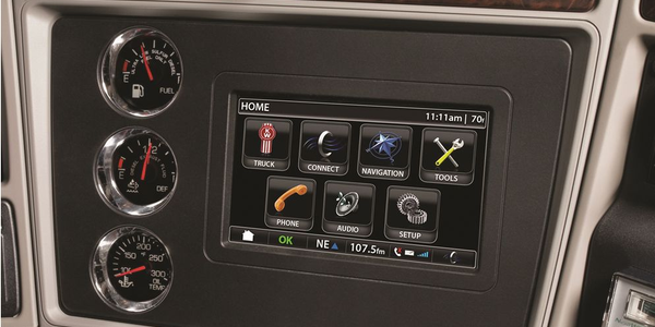 The in-dash NavPlus technology system utilizes a high-resolution, 7-inch color screen and 8...