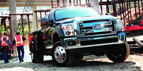 Clark County, Wash.'s fleet of Ford F-550 models (similar to above) improved routing for fuel...