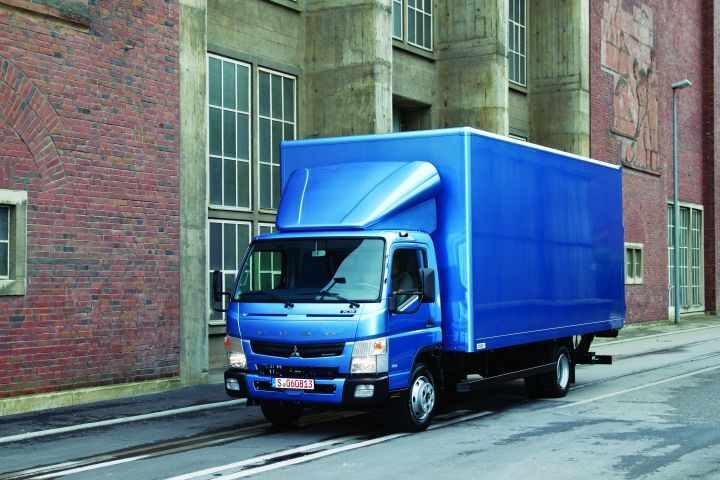 When spec'ing a box truck, such as Mitsubishi Fuso's Canter, don't forget to consider the floor type.  - Image courtesy of Mitsubishi Fuso