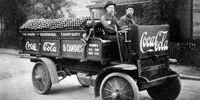 Time Capsule: 1909 Coca-Cola Delivery Truck