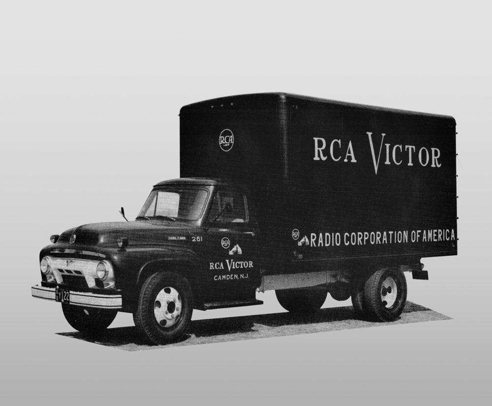Time Capsule: Circa 1954 RCA Victor Truck