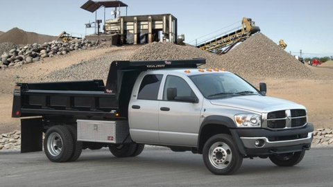 The 2008 Dodge Ram 4500