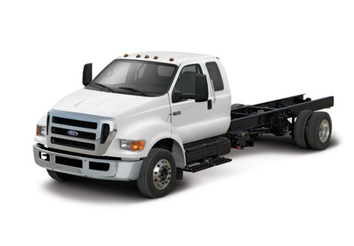 Photo of 2015 F-650 courtesy of Ford. -