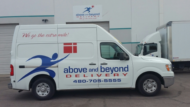 Delivery Fleet's Van Reaches 500,000 Miles
