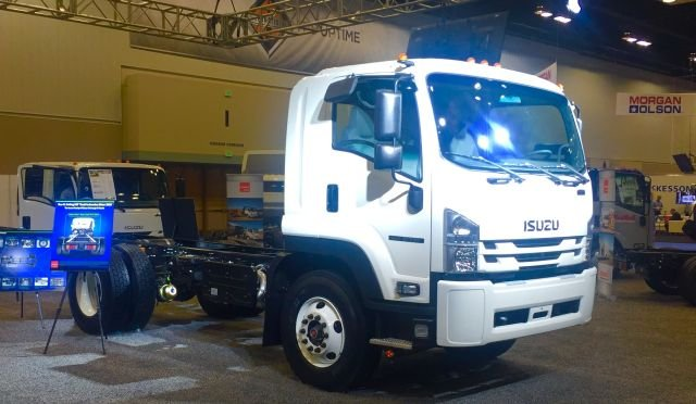 Isuzu FTR, launched at the 2016 NTEA - The Work Truck Show. 