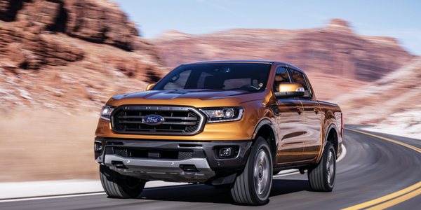 Photo of the 2019 Ford Ranger courtesy of Ford.