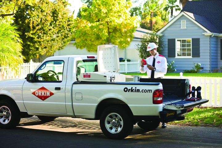 Rollins Inc. is looking into possible replacements for the 5,000 Ford Rangers that comprise its Orkin pest control fleet. -