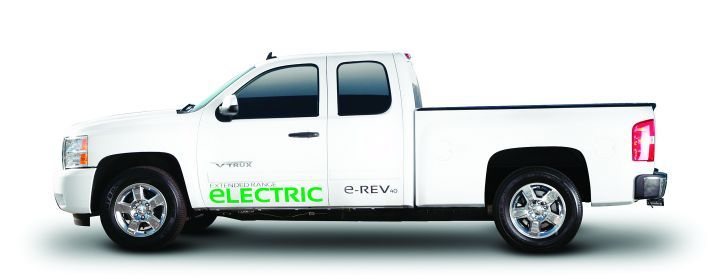 The VIA e-REV has the environmental benefits of an electric vehicle, and eliminates range anxiety by including a conventional gasoline engine. -
