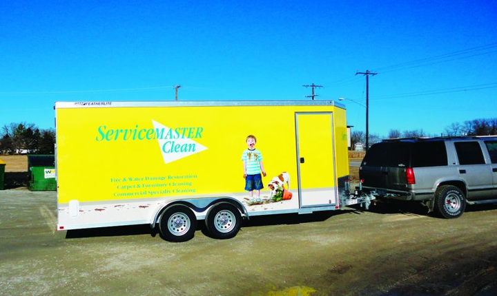From trash trucks to trailers to fleet vehicles, graphics can be utilized on a broad array of fleet units as moving billboards.