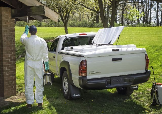 A.R.E. is working to manufacturer such products as truck caps and bed covers for vocational fleets, including the pest control industry to carry equipment and hazardous materials. (Photo: A.R.E.) -