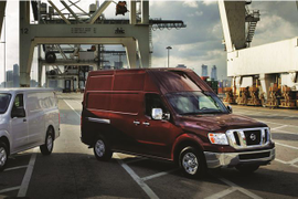 2012 Nissan NV Raises the Roof & Function of Commercial Vans