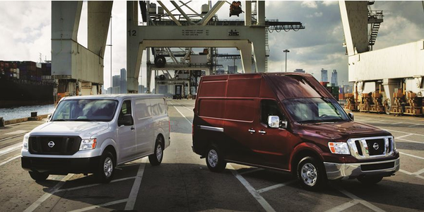 The 2012 Nissan NV is available in two models: Standard and High Roof. The cargo area of the...
