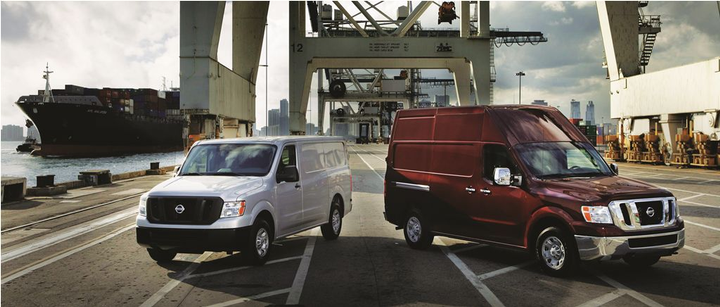 The 2012 Nissan NV is available in two models: Standard and High Roof. The cargo area of the High Roof version enables a 6-foot 3-inch driver to stand upright. -