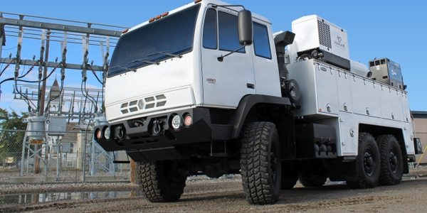 Acela Trucks offers two extreme-duty trucks, the Monterra 4x4 and the Monterra 6x6 (pictured)....