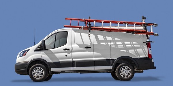 Adrian Steel's Drop-Down and Grip Lock Ladder Racks provide lighter options for ladder storage...