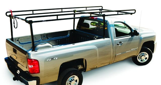 Properly loading and unloading a ladder from a ladder rack ensures safe transport and minimal strain. -