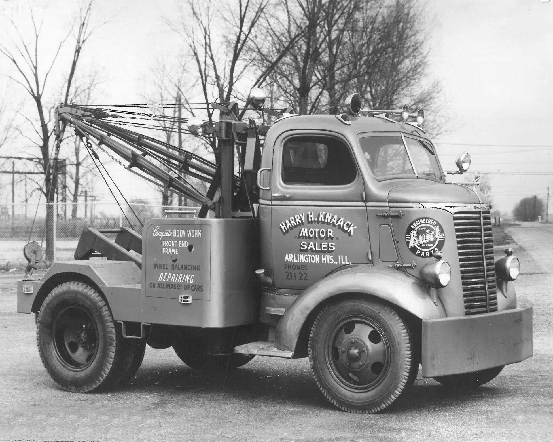 Time Capsule: Circa 1940 Tow Truck