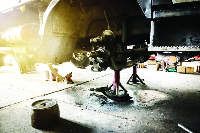 Brake systems are so consistently cited during on-road inspections that the Commercial Vehicle Safety Alliance (CVSA) devotes an entire week to roadside brake-inspection-only activity. (Image from Getty Images) -