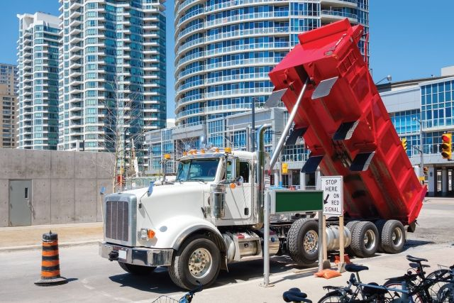 One consequence to under-spec'ing is it may require multiple trips due to limited payload capacity and may cause situations where the truck is overloaded. the truck. (Photo: iStockPhoto.com) -