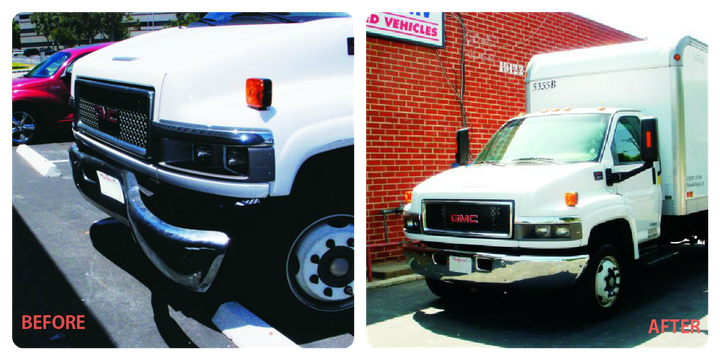 A simple fender bender can be a time-consuming and costly event. The CEI Group saved the client approximately 30 percent through use of an aftermarket bumper for the repair. -