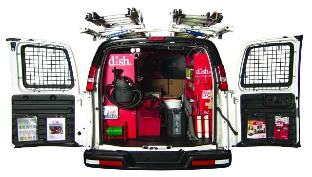 Traveling approximately 21,500 miles each year, each of the approximately 4,200-vehicle fleet is the result of communication and company-wide involvement. (PHOTO: DISH) -