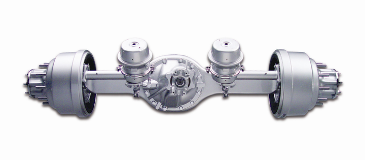 The gear ratio selected for the drive axle impacts the truck's available top-end speed, ability to haul or pull heavy loads, and overall fuel economy.
