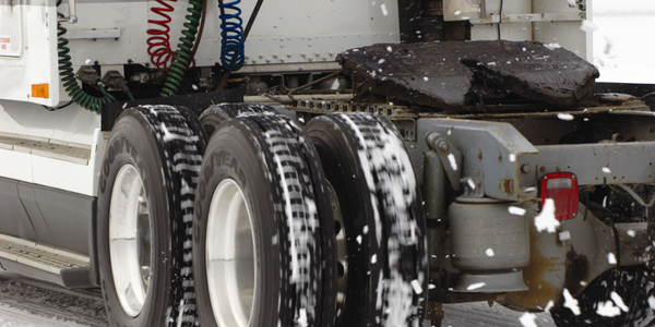 Sixty percent of a drive tire's fuel economy is derived from its tread elements, said Donn...
