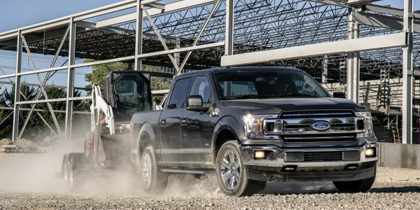 Ford's new Ford F-150 includes new safety options, fuel-saving technology such as auto...
