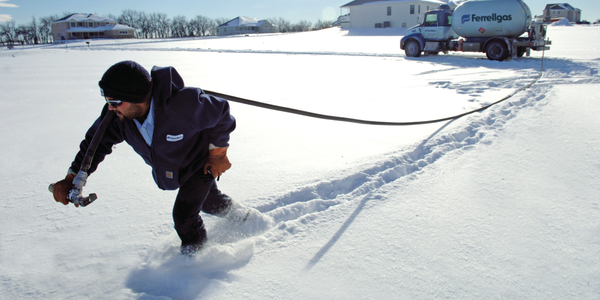 Ferrellgas drivers are often used to working in snow-packed areas, but this year brought extra...