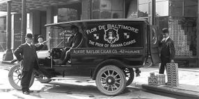 Time Capsule: Alkire-Naylor Cigar Co. Fleet Truck Circa 1913