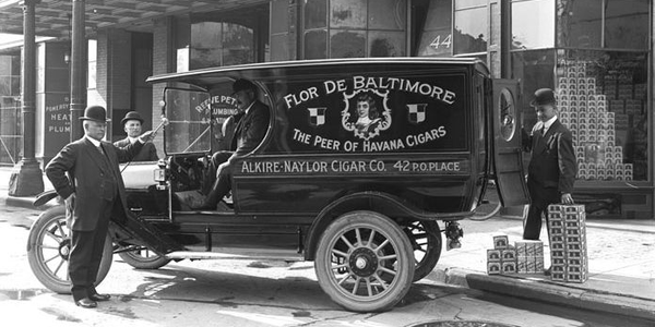 Time Capsule: Alkire-Naylor Cigar Co. Fleet Truck Circa 1913