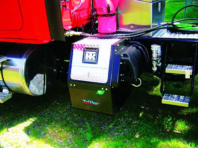 Energy Xtreme offers a utility service vehicle series, which are complete smart power management systems that operate a utility truck's full electrical load, according to the company.   - Photo courtesy of Energy Xtreme