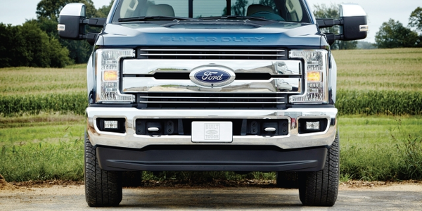 The all-new 2017 Ford F-250 Lariat Crew Cab 4x4 single-rear-wheel pickup is the most popular...