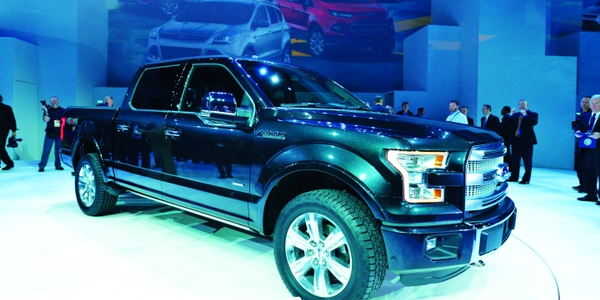 Ford introduced the 2015 Ford F-150 at the Detroit Auto Show, noting that it will utilize an...