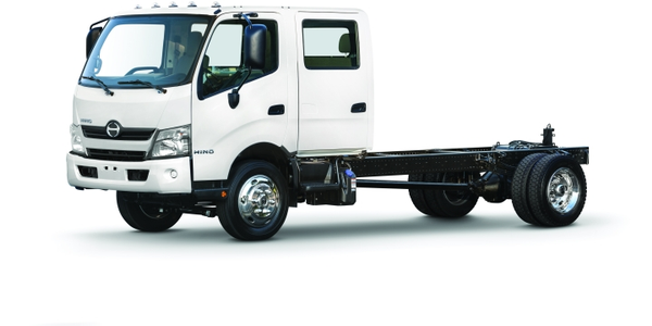 The Hino 195 diesel and 195h diesel-electric hybrid are now available as a standard two-door...
