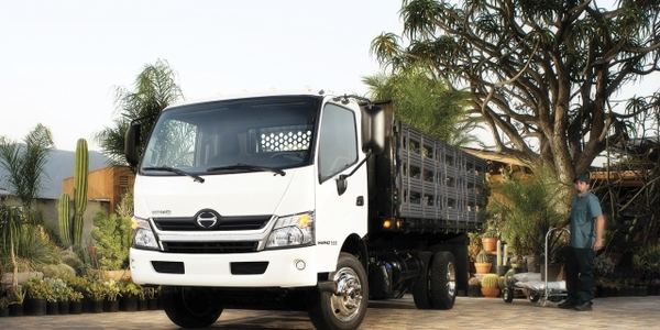 The Hino Model 155 Class 4 COE truck will be offered in several body types and five body...