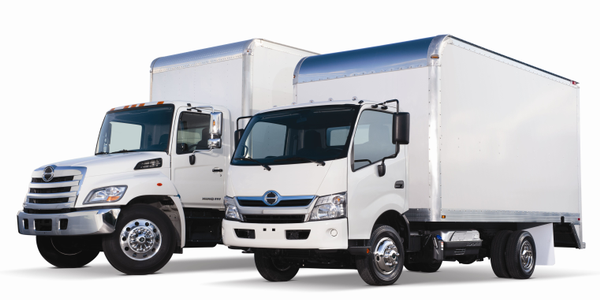 In January 2010, Hino completely restyled its Class 6 and 7 truck lineups (far left). For the...
