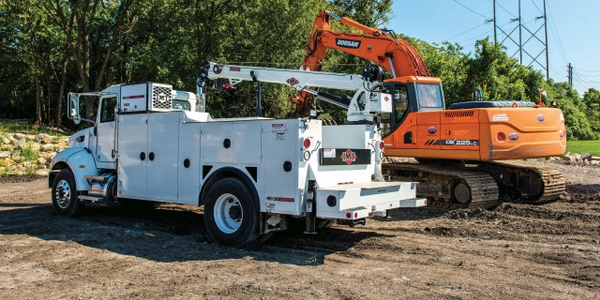 For its service truck fleet, one of the models utilized by McKenna General Engineering Inc. is...