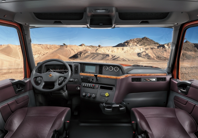 International Truck's DriverFirst philosophy aims to design trucks that improve the driver experience. (Photo courtesy of International Truck) -