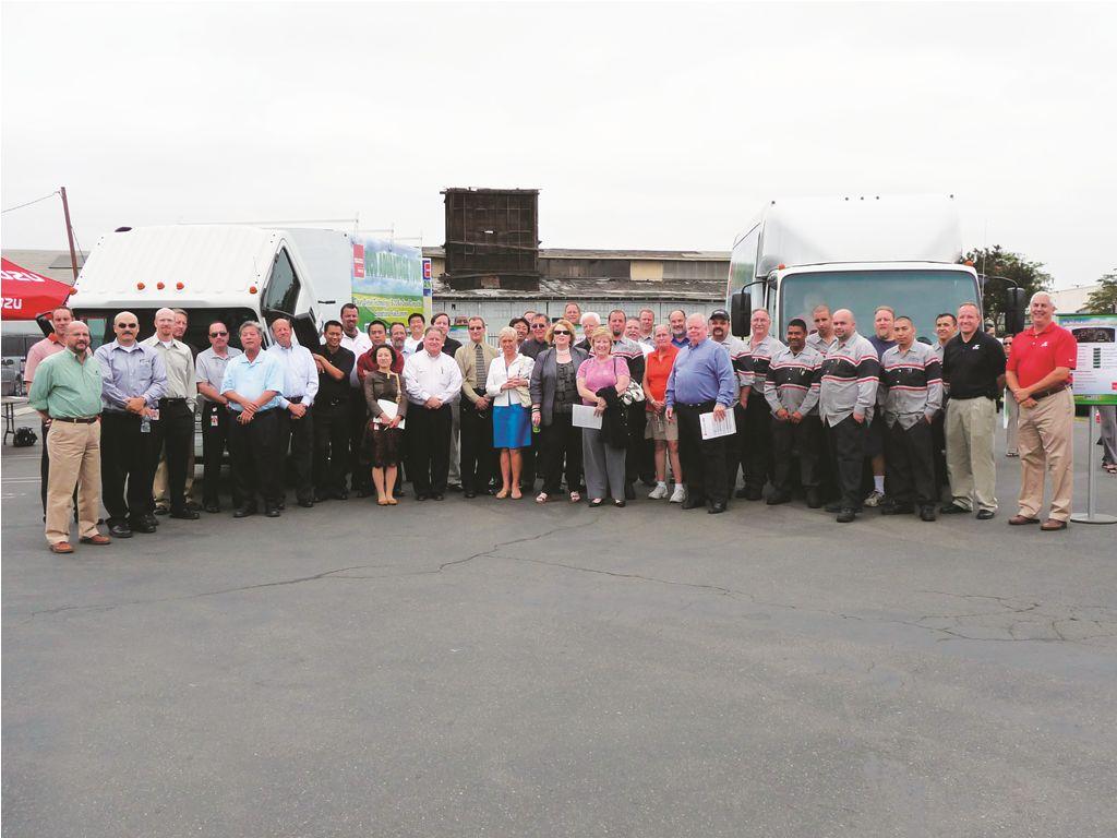 Isuzu NPR ECO-MAX Trucks Return from Nationwide Tour