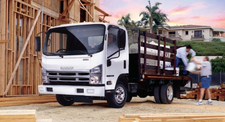 Gas many be the more economical choice for vehicles that will run 25,000 miles or less annually.  - Photo courtesy of Isuzu Commercial Truck of America
