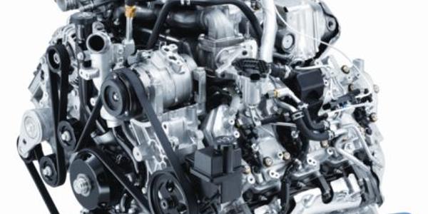 2011 Duramax Diesel 6.6L V-8 Turbo for the Chevrolet Silverado.