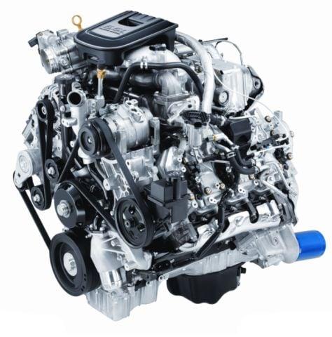 2011 Duramax Diesel 6.6L V-8 Turbo for the Chevrolet Silverado. -