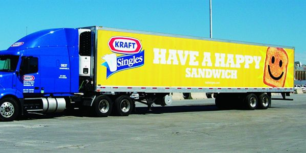 Kraft requires all carriers to shut off tractor engines while parked at its shipping locations.