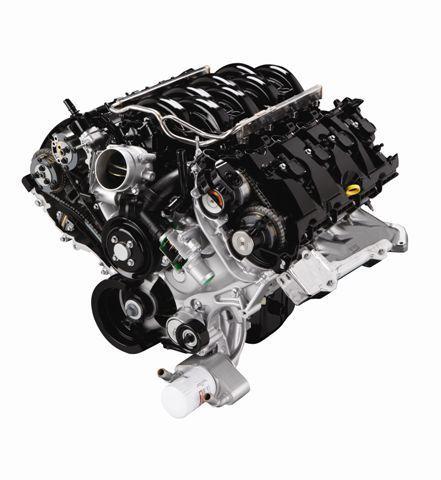 5.0L Four-Valve DOHC Ti-vct v-8 -