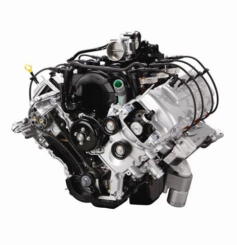 6.2L Two-valve sohc v-8 -