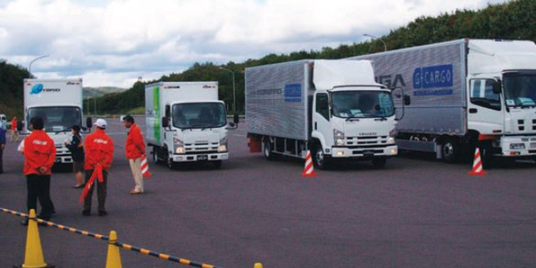 Work Truck magazine participated in the Isuzu Fuel Economy Challenge at the company's proving...
