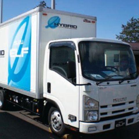 Isuzu markets a hybrid-powered Elf (N-Series) truck in the Japanese market. Isuzu says it has no plans to import a hybrid N-Series truck to the U.S.  -