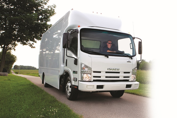 Isuzu Introduces 2011 NPR ECO-MAX Truck - Vehicle Research - Work