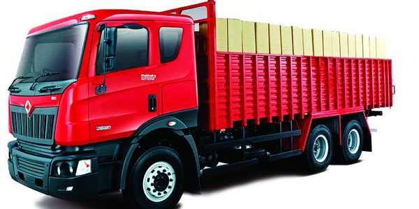 Mahindra-Navistar's new line of trucks include conventional aero-nose trucks for sale in the...